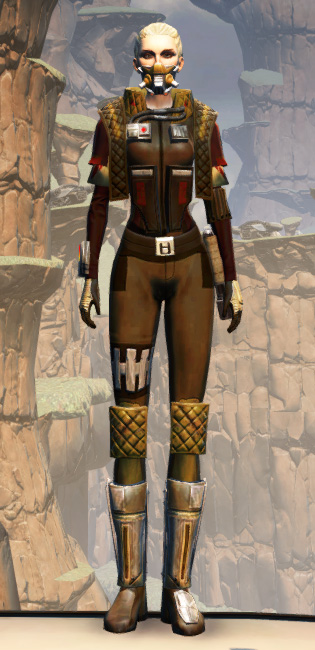 Death Claw Armor Set Outfit from Star Wars: The Old Republic.
