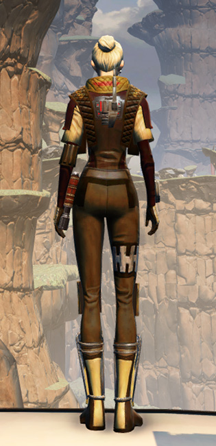 Death Claw Armor Set player-view from Star Wars: The Old Republic.