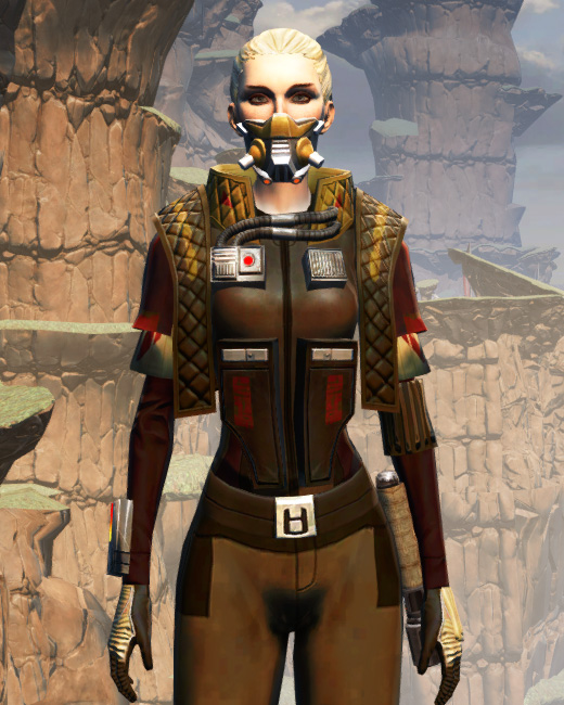 Death Claw Armor Set Preview from Star Wars: The Old Republic.