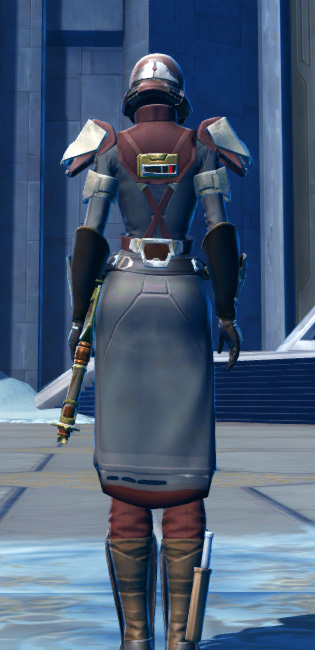 Defiant Asylum MK-16 (Synthweaving) Armor Set player-view from Star Wars: The Old Republic.