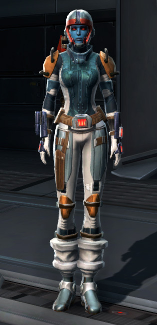 Defiant Asylum MK-26 (Armormech) (Imperial) Armor Set Outfit from Star Wars: The Old Republic.