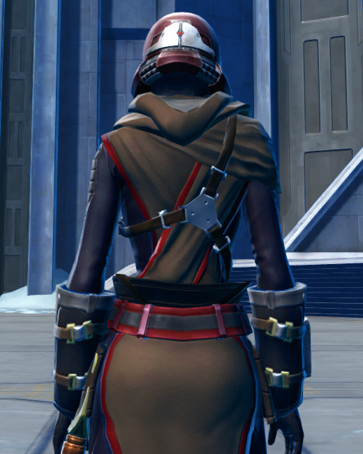 Defiant Onslaught MK-16 (Synthweaving) Armor Set Back from Star Wars: The Old Republic.