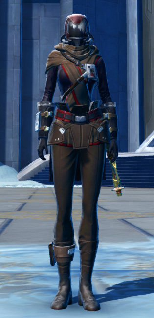 Defiant Onslaught MK-16 (Synthweaving) Armor Set Outfit from Star Wars: The Old Republic.