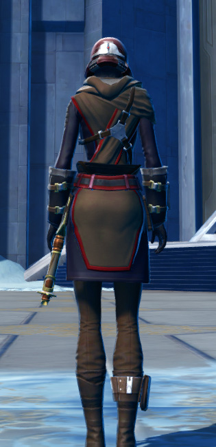 Defiant Onslaught MK-16 (Synthweaving) Armor Set player-view from Star Wars: The Old Republic.