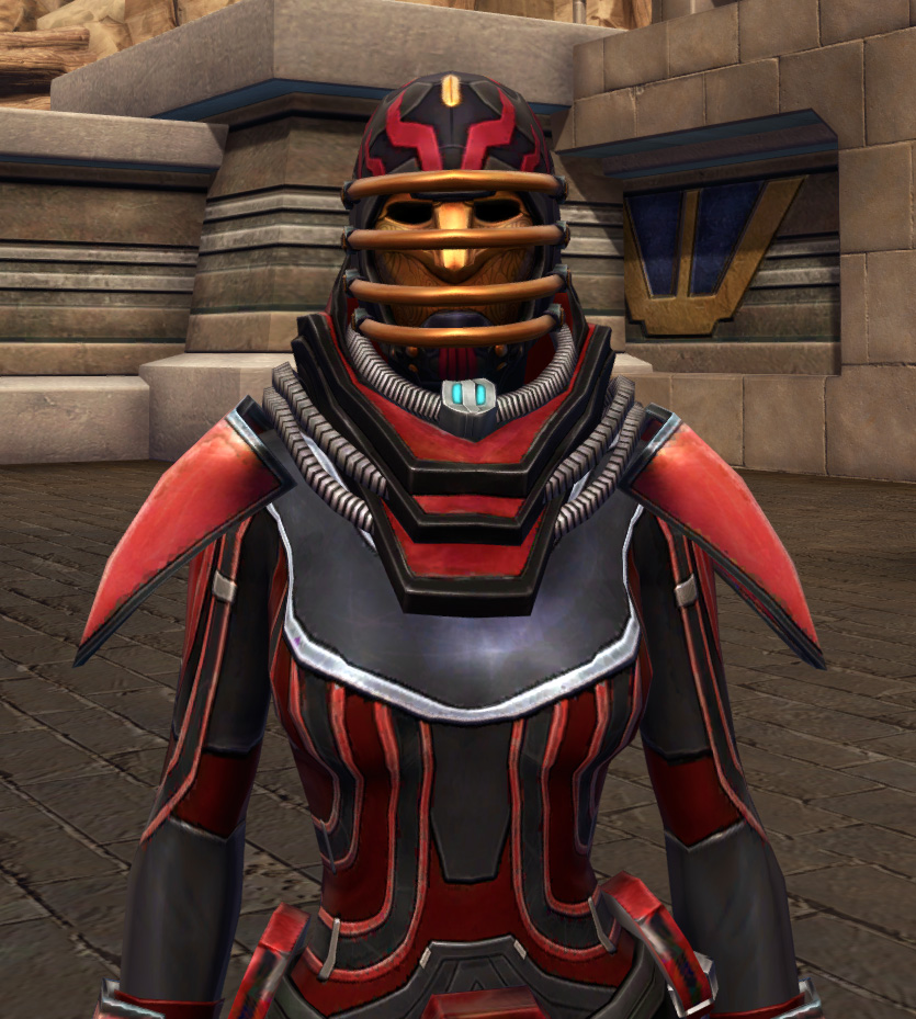 Dire Retaliation Armor Set from Star Wars: The Old Republic.