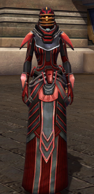 Dire Retaliation Armor Set Outfit from Star Wars: The Old Republic.