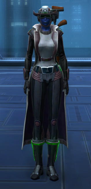 Dynamic Vandal Armor Set Outfit from Star Wars: The Old Republic.