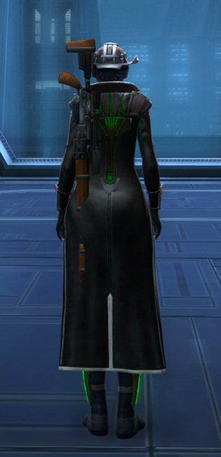 Dynamic Vandal Armor Set player-view from Star Wars: The Old Republic.