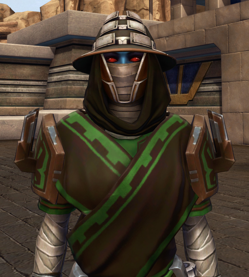 Efficient Termination Armor Set from Star Wars: The Old Republic.