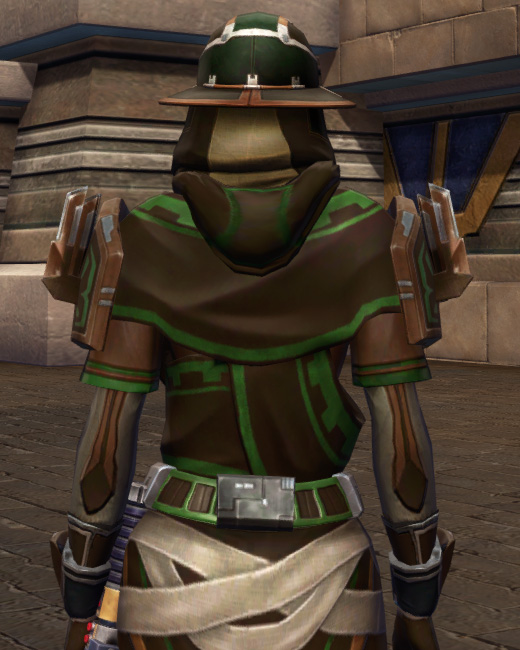 Efficient Termination Armor Set Back from Star Wars: The Old Republic.