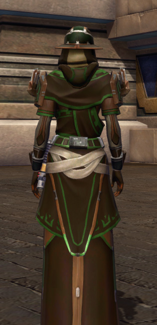 Efficient Termination Armor Set player-view from Star Wars: The Old Republic.
