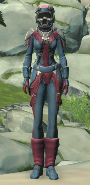 Elite Regulator Armor Set Outfit from Star Wars: The Old Republic.