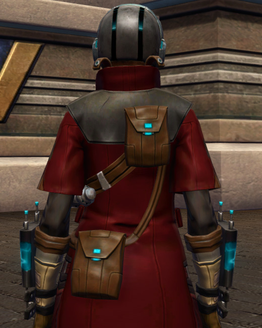 Escape Artists Armor Set Back from Star Wars: The Old Republic.