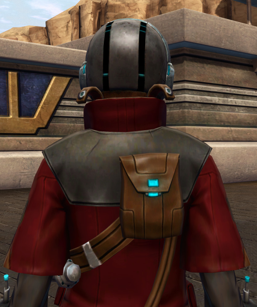 Escape Artists Armor Set detailed back view from Star Wars: The Old Republic.