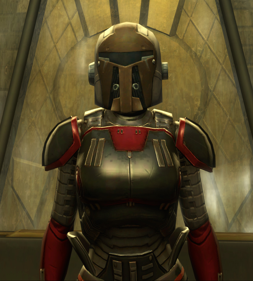 Eternal Battler Boltblaster Armor Set from Star Wars: The Old Republic.