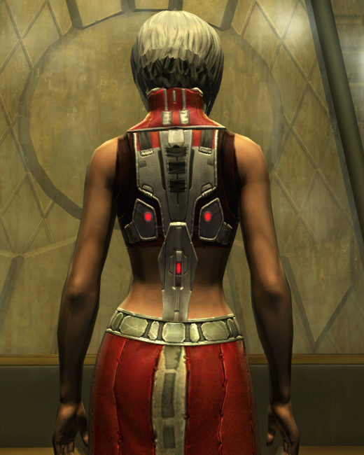 Eternal Battler Force-Lord Armor Set Back from Star Wars: The Old Republic.