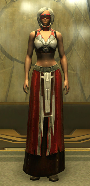 Eternal Battler Force-Lord Armor Set Outfit from Star Wars: The Old Republic.