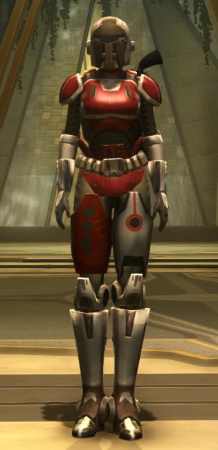 Eternal Conqueror Med-Tech Armor Set Outfit from Star Wars: The Old Republic.