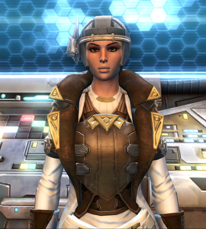 Eternal Commander MK-15 Field tech Armor Set from Star Wars: The Old Republic.