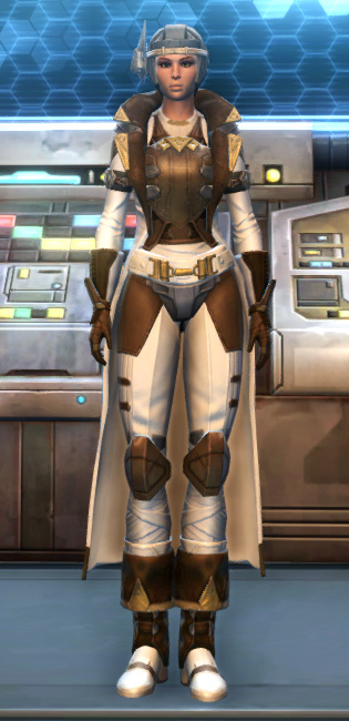 Eternal Commander MK-15 Field tech Armor Set Outfit from Star Wars: The Old Republic.