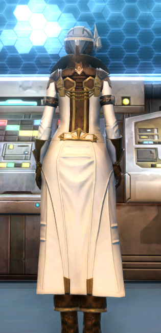Eternal Commander MK-15 Field tech Armor Set player-view from Star Wars: The Old Republic.