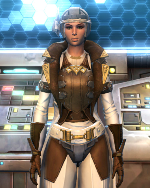 Eternal Commander MK-15 Field tech Armor Set Preview from Star Wars: The Old Republic.
