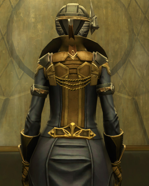 Berserker Armor Set Back from Star Wars: The Old Republic.