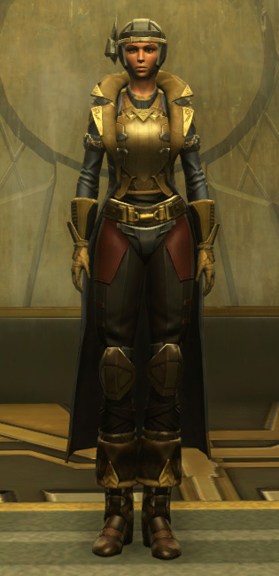 Berserker Armor Set Outfit from Star Wars: The Old Republic.