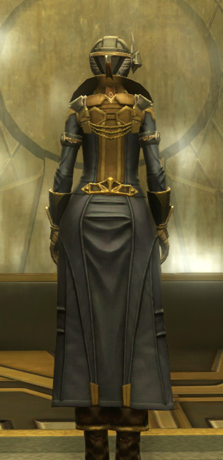 Berserker Armor Set player-view from Star Wars: The Old Republic.