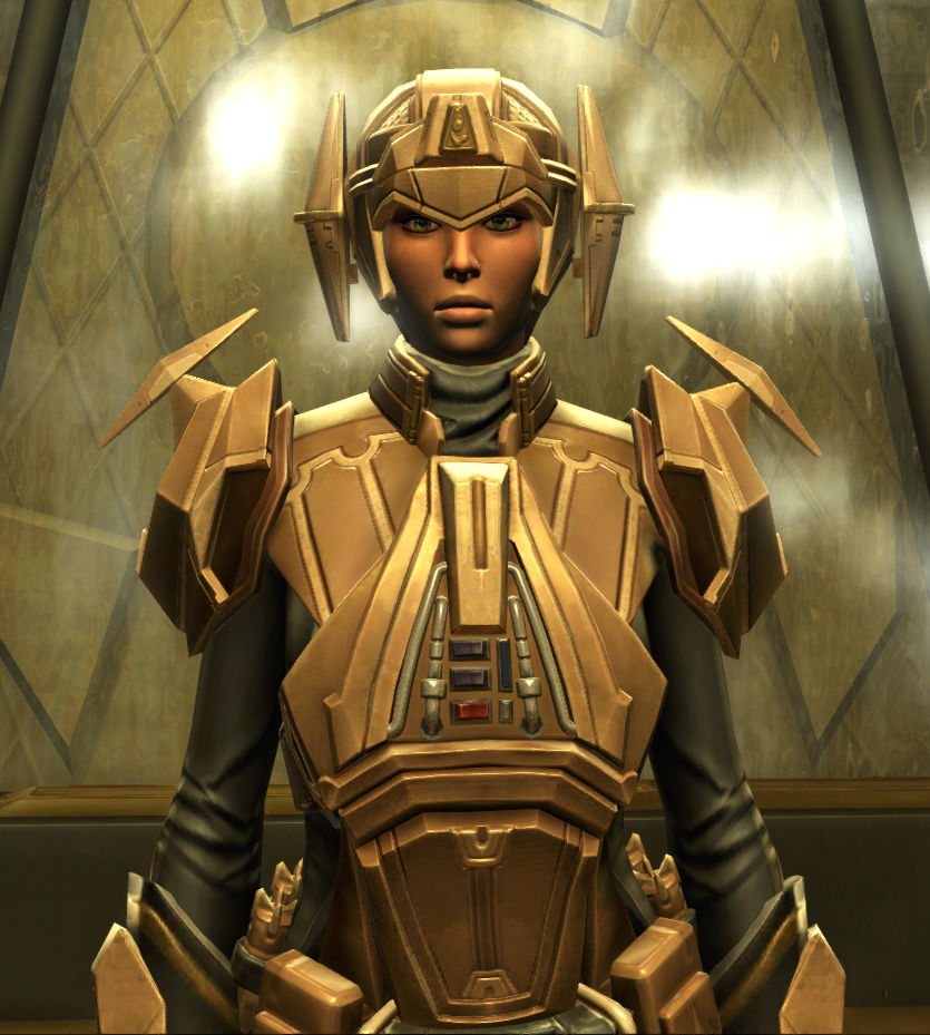 Eternal Commander MK-3 Weaponmaster Armor Set from Star Wars: The Old Republic.