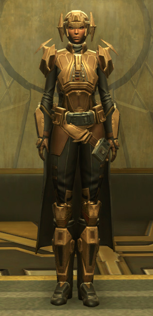 Eternal Commander MK-3 Weaponmaster Armor Set Outfit from Star Wars: The Old Republic.