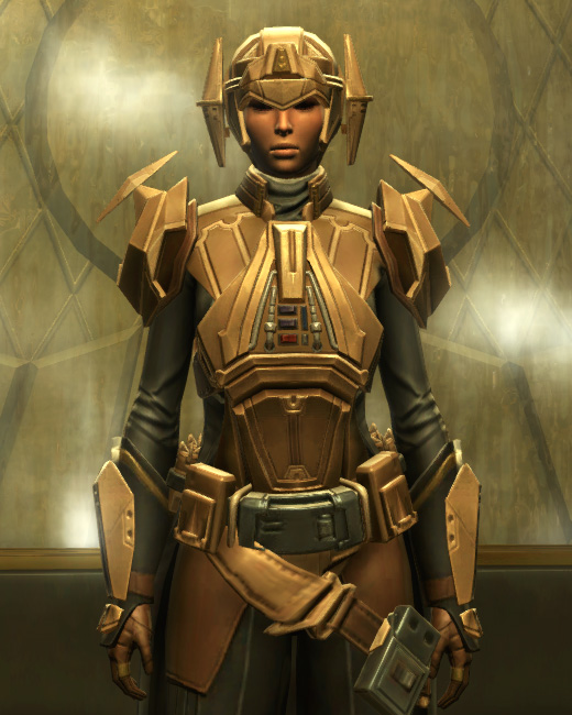 Eternal Commander MK-3 Weaponmaster Armor Set Preview from Star Wars: The Old Republic.