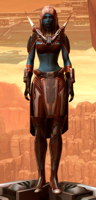 Exposed Extrovert Armor Set Outfit from Star Wars: The Old Republic.