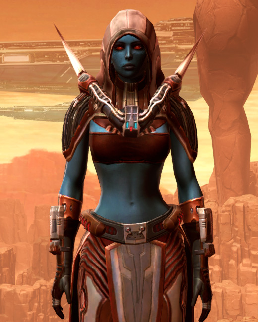 Exposed Extrovert Armor Set Preview from Star Wars: The Old Republic.