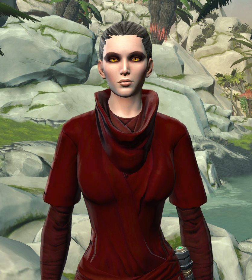Festive Life Day Robes Armor Set from Star Wars: The Old Republic.