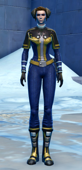 Formal Tuxedo Armor Set Outfit from Star Wars: The Old Republic.