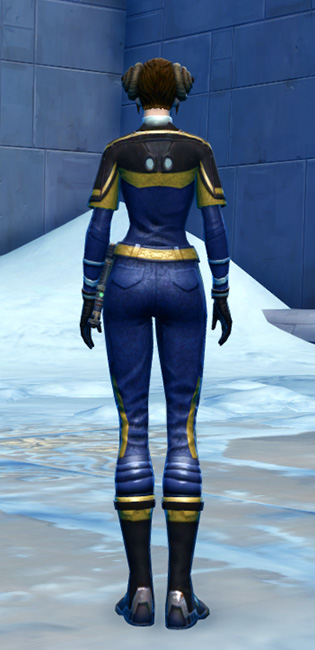 Formal Tuxedo Armor Set player-view from Star Wars: The Old Republic.