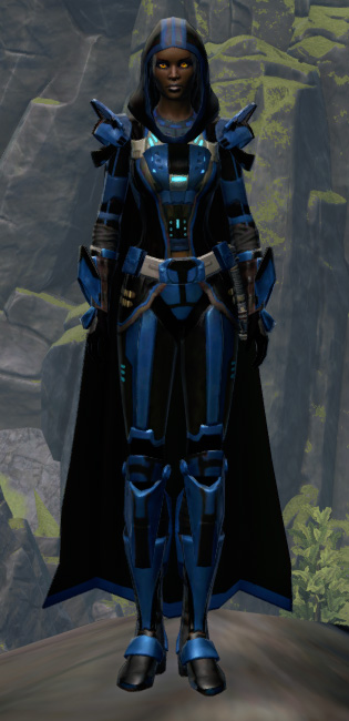 Fortified Defender Armor Set Outfit from Star Wars: The Old Republic.