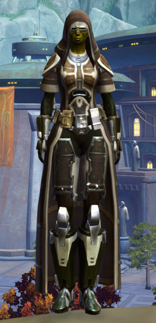 Fortified Electrum Armor Set Outfit from Star Wars: The Old Republic.
