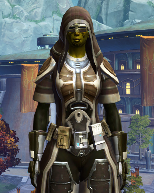 Fortified Electrum Armor Set Preview from Star Wars: The Old Republic.