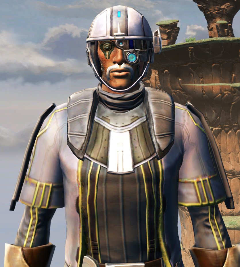 Fortified Lacqerous Armor Set from Star Wars: The Old Republic.