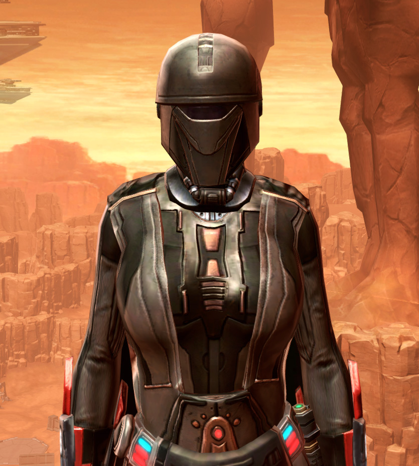 Fortified Phobium Armor Set from Star Wars: The Old Republic.