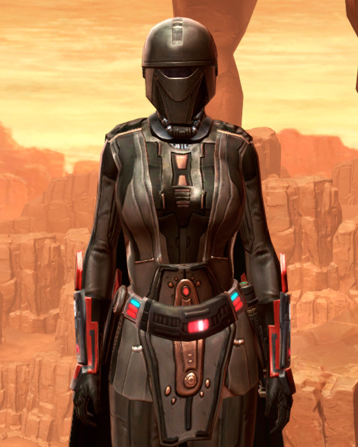 Fortified Phobium Armor Set Preview from Star Wars: The Old Republic.