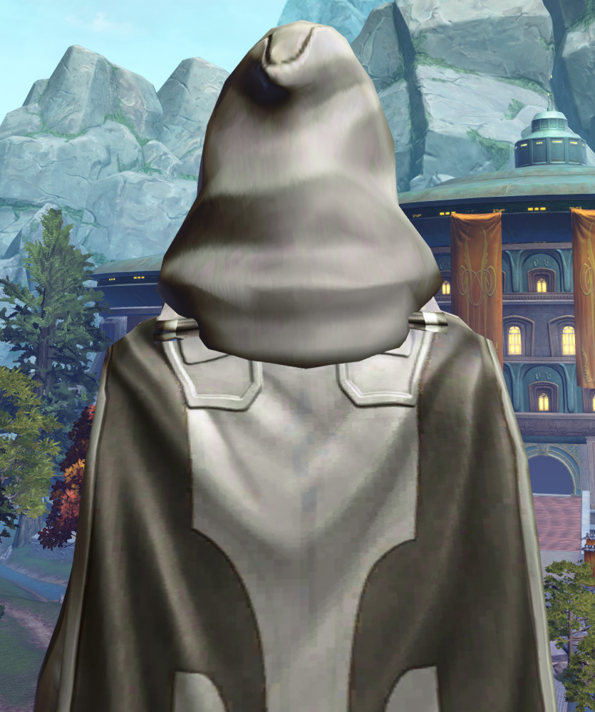 Fortified Phobium Armor Set detailed back view from Star Wars: The Old Republic.