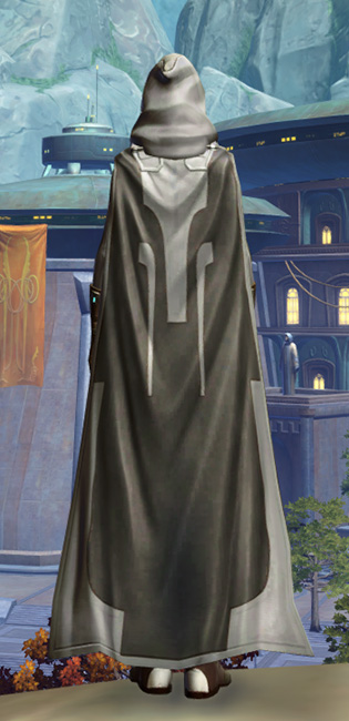 Fortified Phobium Armor Set player-view from Star Wars: The Old Republic.