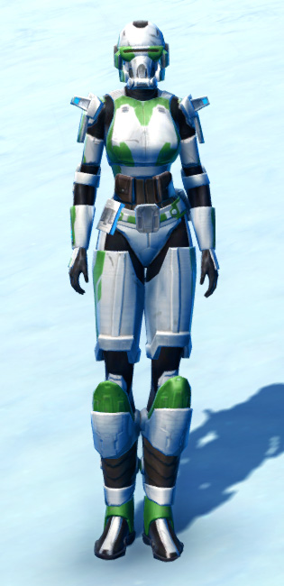 Forward Recon Armor Set Outfit from Star Wars: The Old Republic.