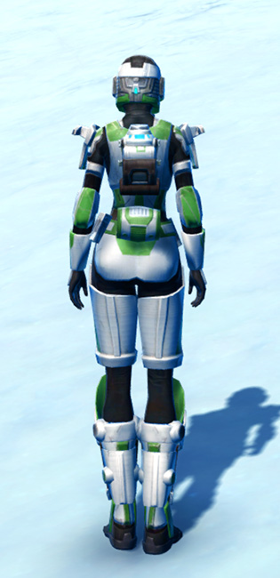 Forward Recon Armor Set player-view from Star Wars: The Old Republic.