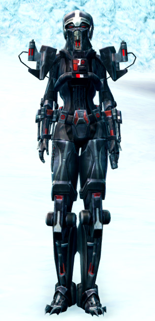 Frenzied Instigator Armor Set Outfit from Star Wars: The Old Republic.