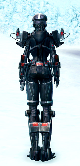 Frenzied Instigator Armor Set player-view from Star Wars: The Old Republic.