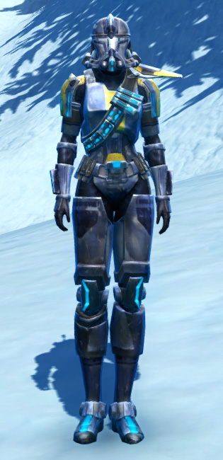 Galvanized Infantry Armor Set Outfit from Star Wars: The Old Republic.